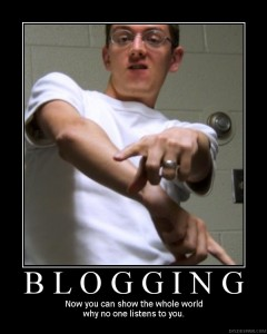 We be bloggin'!